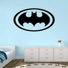 batman logo wall decal