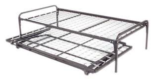 Hi-Riser Complete Bed (Twin) w/Pop-Up Trundle by Coaster