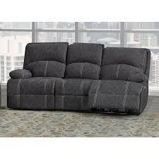 bras houston fabric reclining sofa in ash grey sa2200