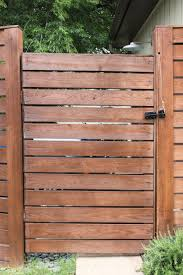 horizontal wood slat fence.  Horizontal Horizontal Wood Slat Fence For N