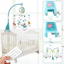 Musical Light For Babies Details About Baby Crib Mobile Musical Bed Bell With Controller Music Night Light Projection