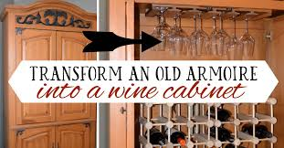 Diy wine cabinet Diy Kitchen Turnarmoireintowinecabinet Good And Simple Turn Tv Armoire Into Cabinet For Wine Bottles And Glasses