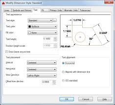 autocad dimension text size text tab dimension style manager autocad lt autodesk knowledge