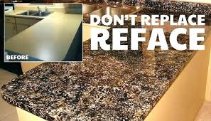 resurfacing countertop refinishing