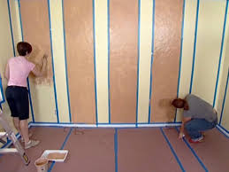 Stripe painted walls Nursery Dfct313seg1walls04 Diy Network How To Paint Striped Walls For Contrast Of Color Howtos Diy