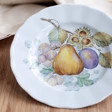Vintage hand-painted collection porcelain plate - art ... - Amazon.com