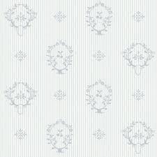 Behangpapier Logo Blauw