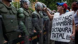 Image result for imagenes de la represion en venezuela