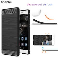 huawei p8. youthsay cover huawei p8 lite case shockproof soft rubber silicone phone for