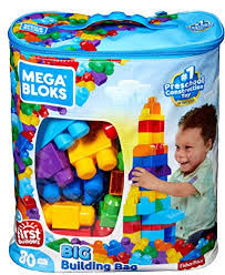 Mega Bloks 80-Piece Big Building Bag, Classic The 131 Best Gift Ideas for Boys In 2018 (From Baby to Teens)