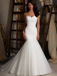sexy mermaid wedding dresses with sweetheart neckline cherry marry
