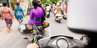 ride motorbikes in southeast asia