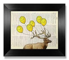 living room decor deer antler decor