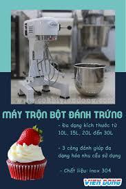 Máy trộn bột đánh trứng đánh kem 20L - Giá tốt tại Viễn Đông