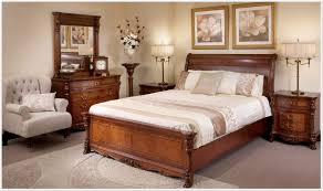 Solid Wood Bedroom Suites Walnut Bedroom Furniture Sets Antique Walnut Finish Massive