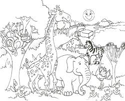 Small Picture Animal Coloring Pages Pdf zimeonme