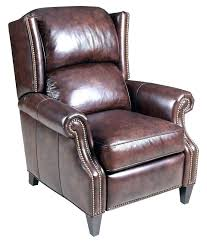 black leather tufted wingback chair vintage armchairs with ottoman