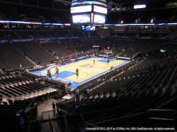 Chesapeake Energy Arena View From Club Level 212 Vivid Seats