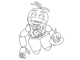 Fnaf 2 Coloring Pages With Mangle From Five Nights At Freddys 2 Fnaf