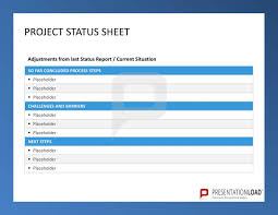 Project Status Sheet Six Sigma Powerpoint Templates Http
