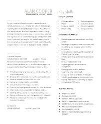 Admin Job Profile Resume Office Assistant Job Description Template