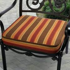 striped outdoor chair cushions indoor outdoor inch striped chair cushion with fabric black and white striped