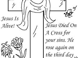 jesus easter coloring pages.  Easter Easter Bible Coloring Pages Church House Collection Blog Resurrection Jesus  To Print   On Jesus Easter Coloring Pages R