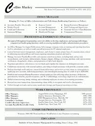 Manager Resume Format Letter Example