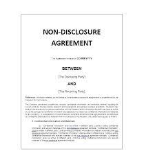 Nda Template Canada Mutual Nda Template Template Free Mutual Non Disclosure Agreement