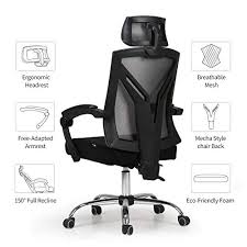 E  Hbada Gaming Office Chair  Ergonomic Highback Desk Racing Style  With Lumbar Support