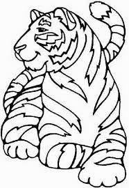 Small Picture Cute Tiger Coloring Pages PrintableTigerPrintable Coloring Pages
