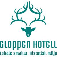 Bilderesultat for logo gloppen hotell