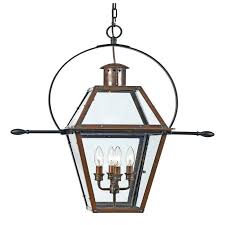 quoizel rue de royal extra large hanging lantern in aged copper ro1914ac