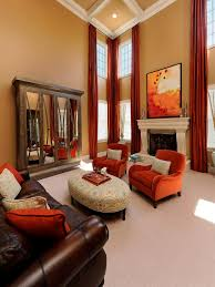 transitional living room design. Home Staging Tips For Fall. Neutral Living RoomsLiving Room Ideas Brown Leather CouchTransitional Transitional Design