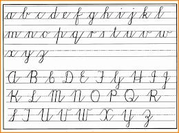 cursive writing capital letter cursive handwritng chart lower upper