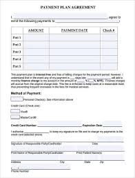 Payment Plan Template 16 Payment Plan Agreement Templates Word Excel Samples