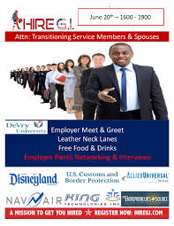 Jobs For Veterans, Employment Placement For G.i., Hiring Events ...