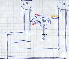 bmw e34 hid kit install above wiring diagram showing how the relay harness was wired on my passenger s side headlights note how the low beam positive lead supplies both the