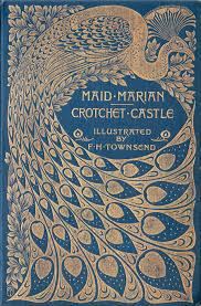 beautiful pea design art nouveau book cover