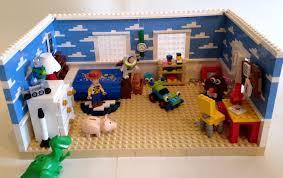 Lego Full House Lego Ideas Toy Story Andys Room