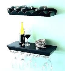 wall mounted wine and glass rack k shelf wine glass holder wall mounted wine white wine