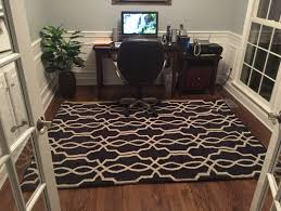 best choice of area rug for home office