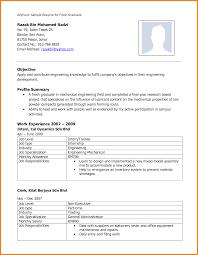 Mesmerizing Freshers Resume Model Pdf Also Mba Resume Format For