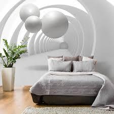 Der schwerpunkt moderner fototapeten liegt definitiv im bereich vliestapeten. Wand Mit Fototapete Gestalten Fur Eine Optische Vergrosserung Des Raums