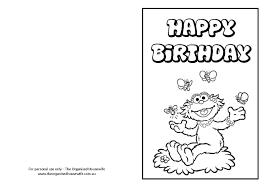 Abby From Sesame Street Birthday Card