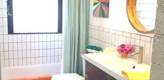 ikea bathroom remodel. Bright And Peaceful Bathroom Remodel Black White Merona Tile Ikea F