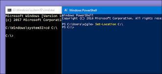 Powershell Windows How Powershell Differs From The Windows Command Prompt