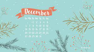 Monthly Desktop Wallpaper December 2019