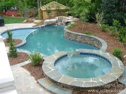 hot tub pool combo above ground swimming