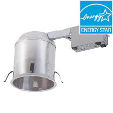 aluminum led recessed lighting housing for remodel ceiling t24 compliant